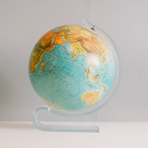 1991 Replogle Globe with Lucite Base
