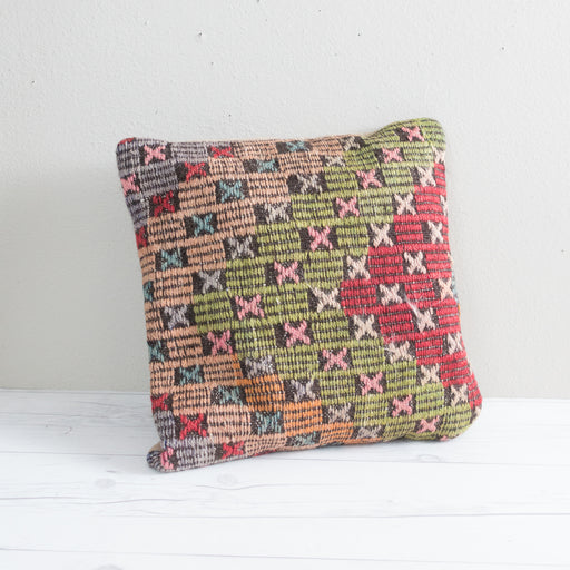 Vintage Turkish Kilim Pillow Cover