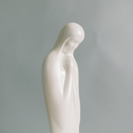 1969 Pearlescent Virgin Mary Statue