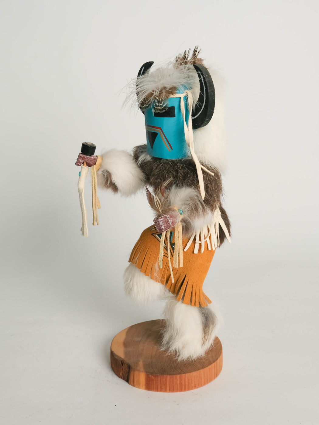 Medicine Man Kachina Doll by K Yazzie