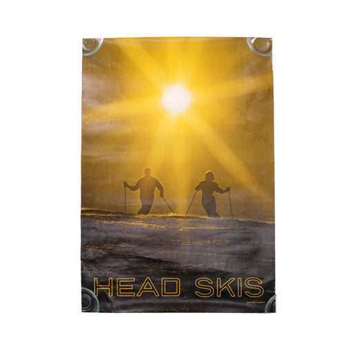 Vintage Head Skis Travel Poster Original