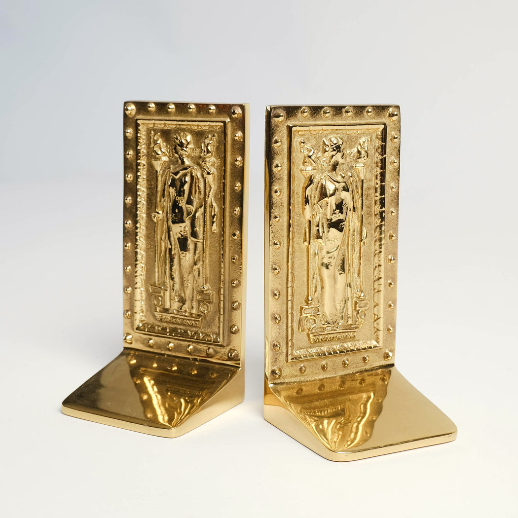 Vintage Doors to the Library of Congress Book Ends