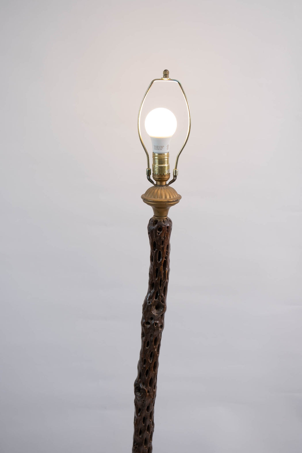 Vintage Cholla Wood Floor Lamp | Standing Driftwood Lamp