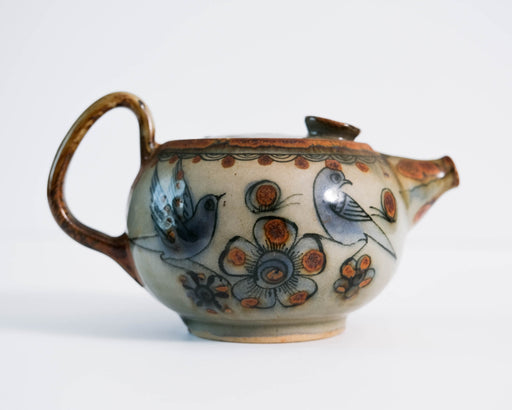 El Palomar Blue Bird Tea Pot | Ken Edwards Tonala Pottery