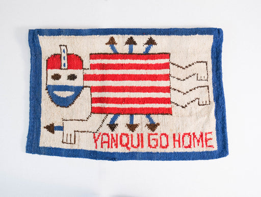 Vintage Yanqui Go Home Wall Hanging