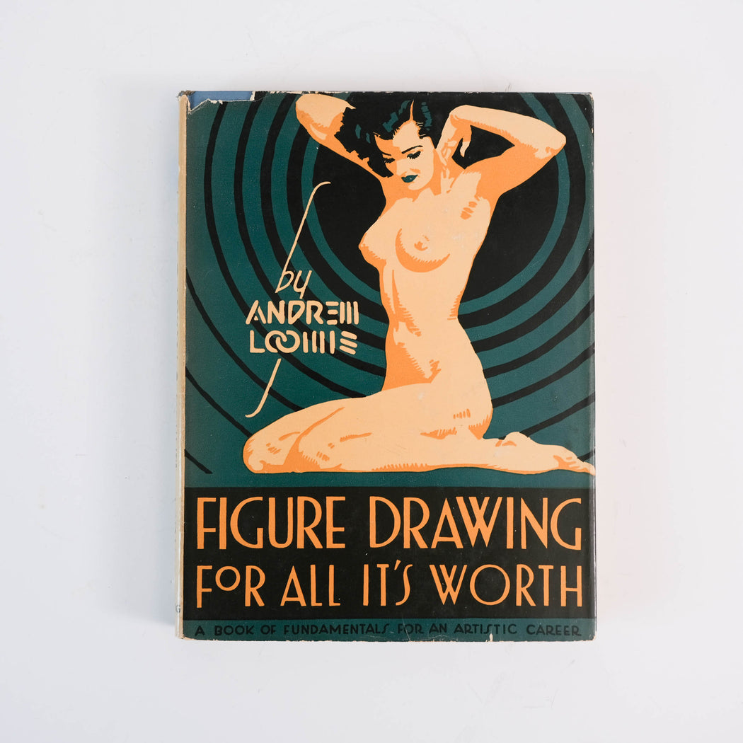 Figure Drawing For All It's Worth | Art Book by Andrew Loomis 1948