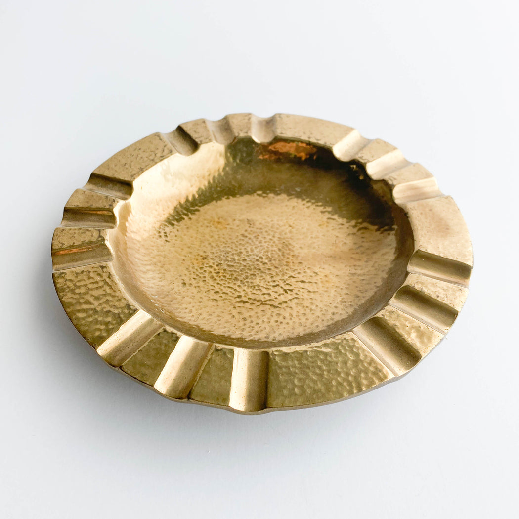 Vintage Dirilyte Ash Tray | G-1 Large Dirigold Ashtray
