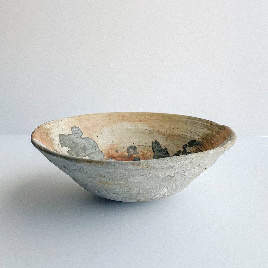 1973 Studio Pottery Bowl | Vintage Decorative Ceramics