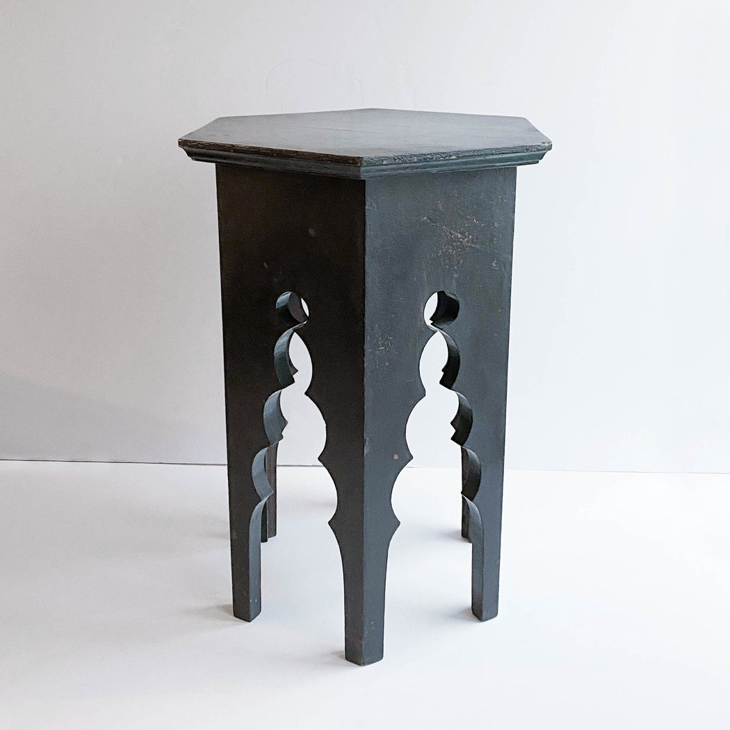 Vintage Moroccan End Table