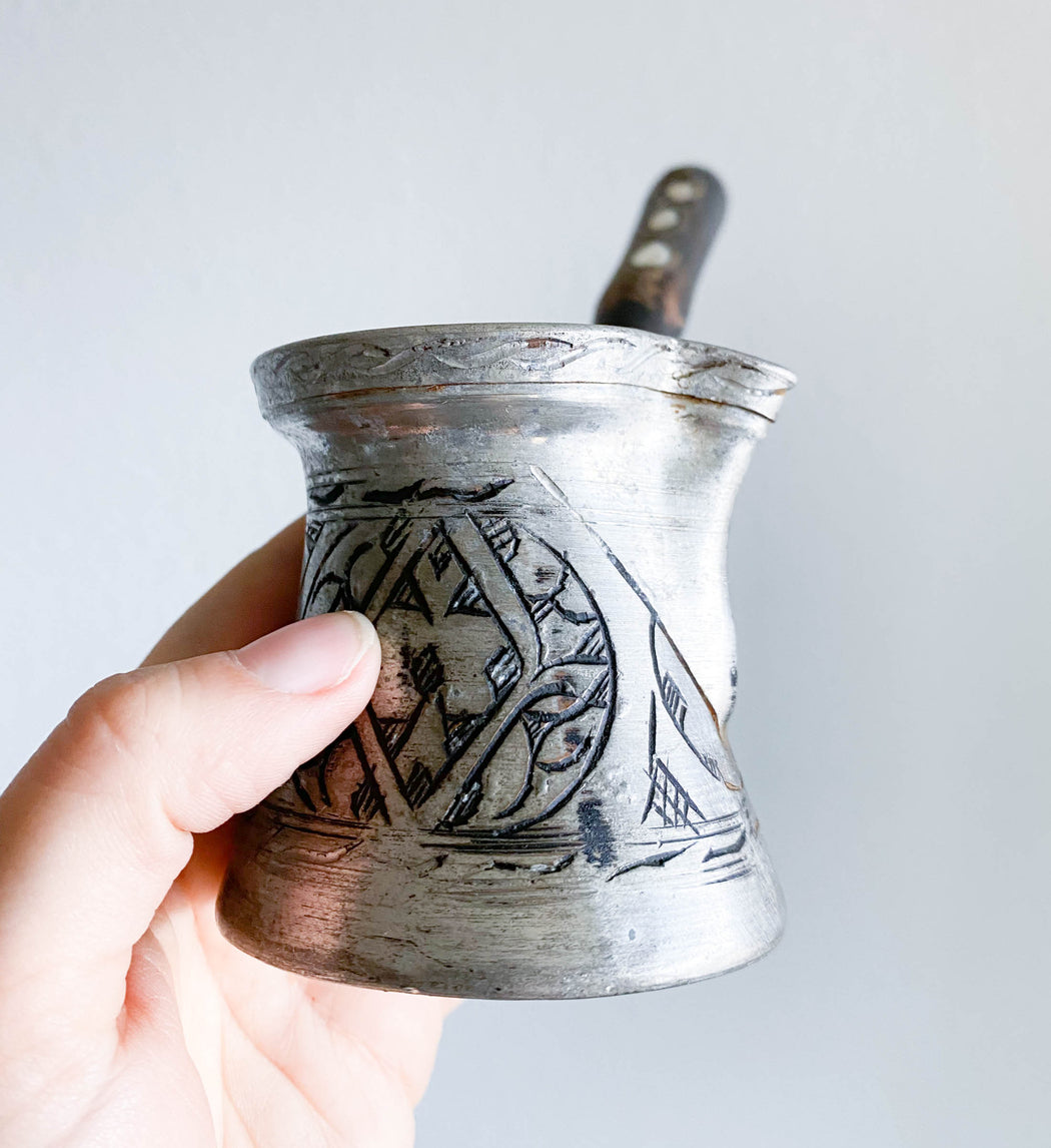 Vintage Turkish Coffee Pot