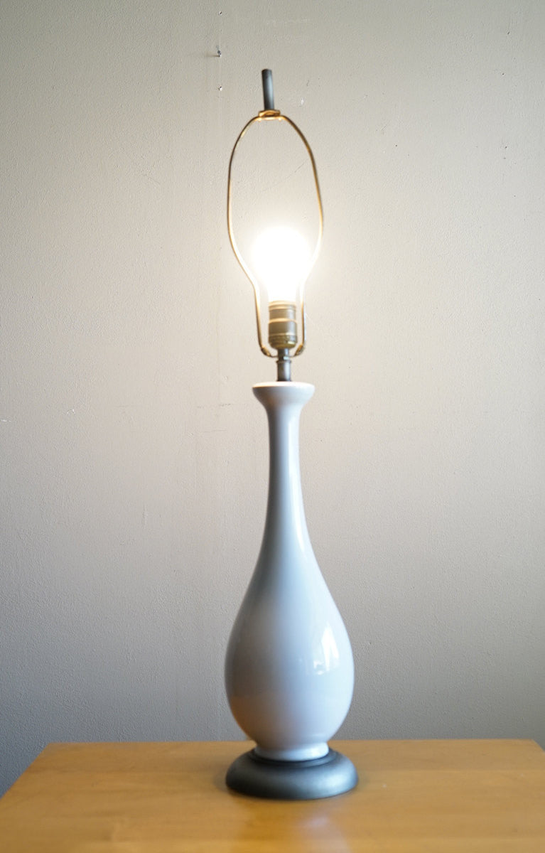 Vintage Simple White Table Lamp