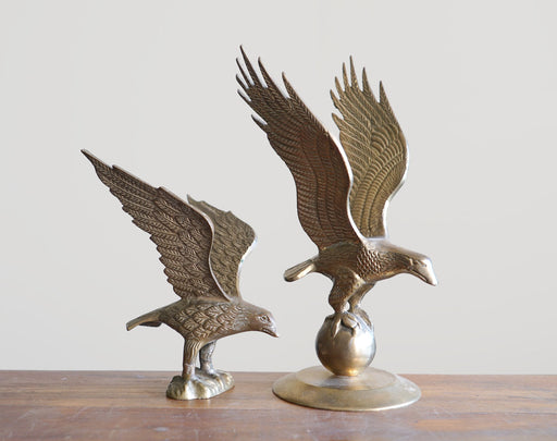 "11"" Vintage Brass Bald Eagle"