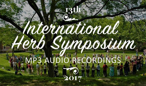 All Recorded Sessions of the 13th International Herb Symposium
