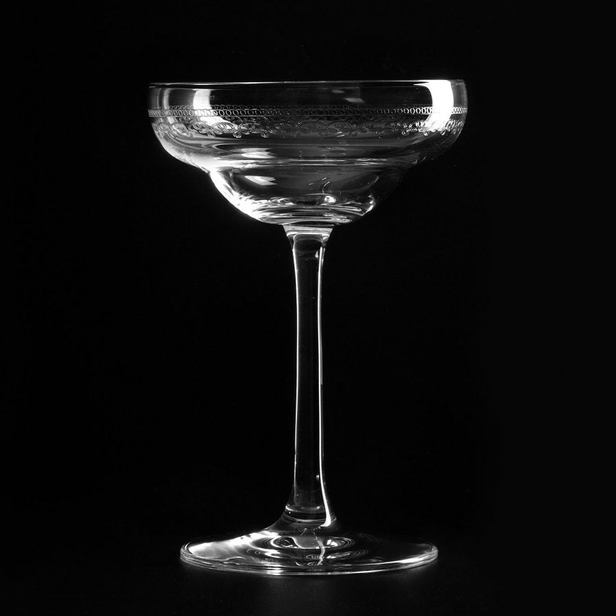 URBAN BAR 1910 Retro Coley Cocktail Glass, 5.7oz