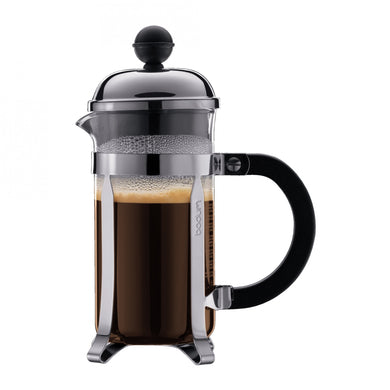 Bodum Chambord 3-Cup Stainless Steel French Press