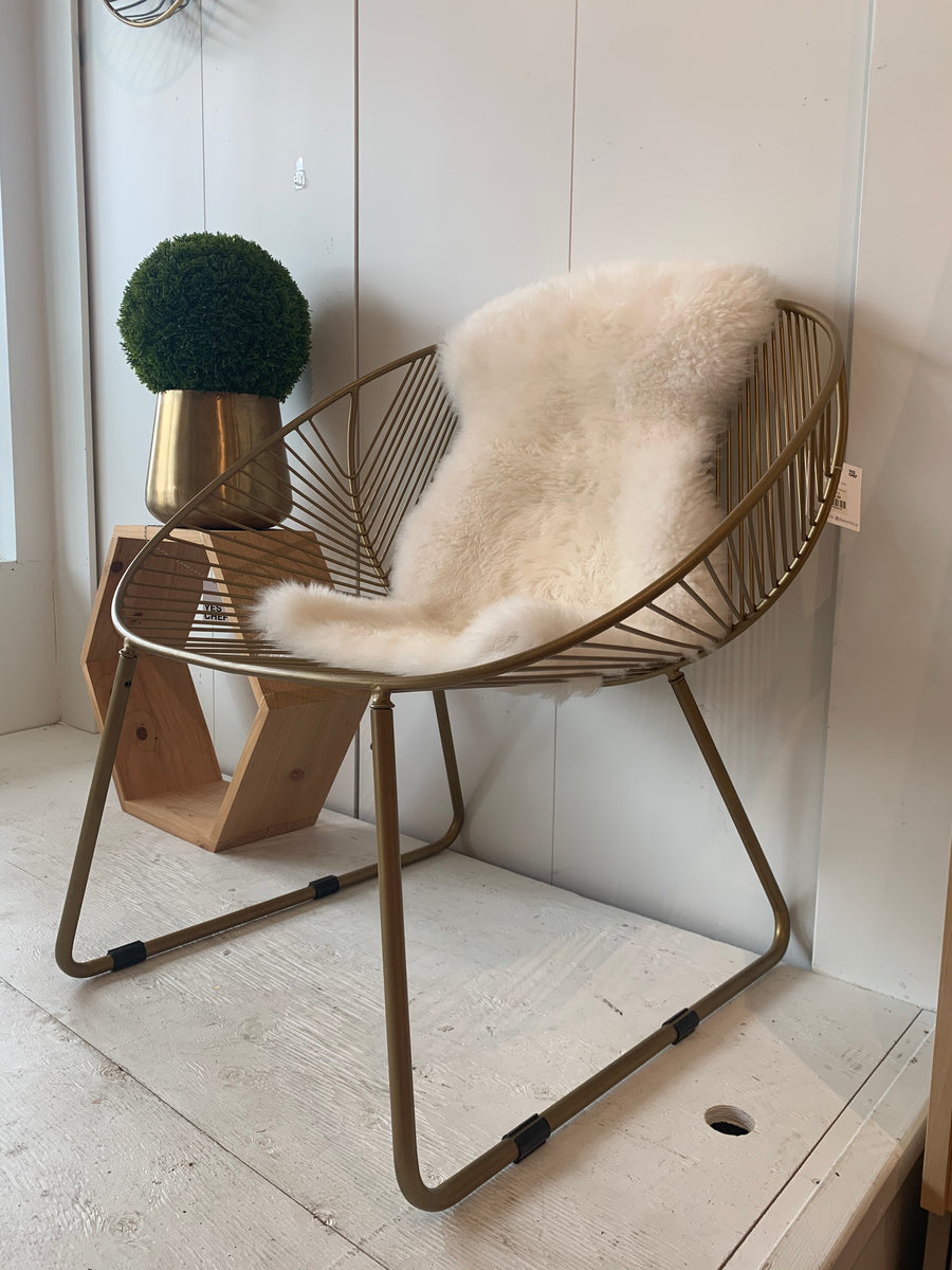 DESIGN HOME Gold Chair