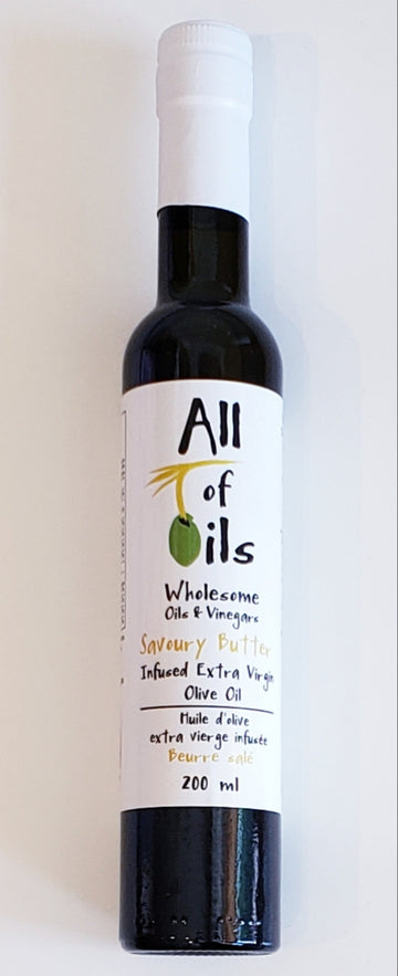 ALL OF OILS Savoury Butter Infused Extra Virgin Olive Oil, 200ml