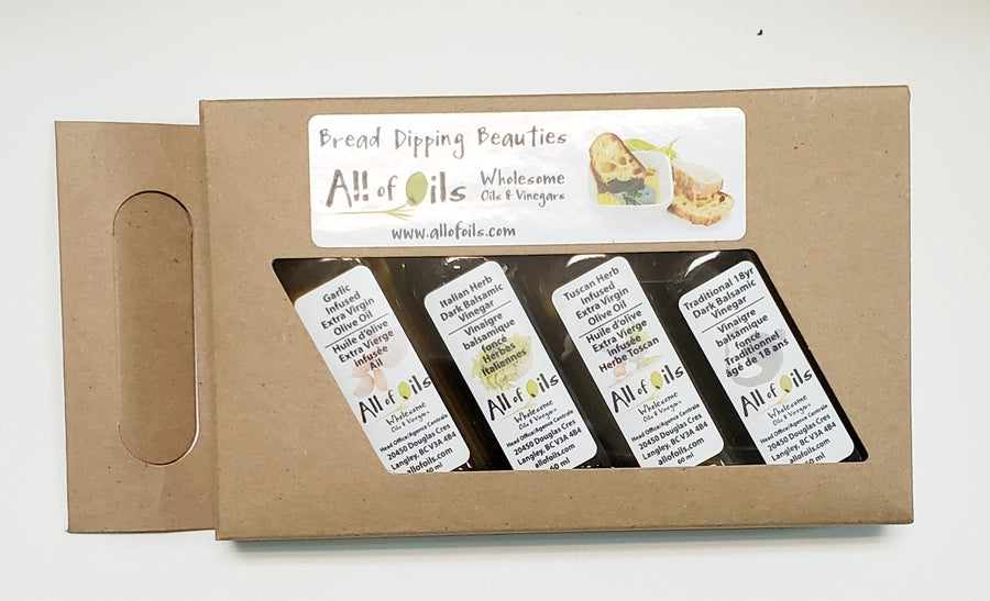 ALL OF OILS Olive Oil and Balsamic Gift Sets, 240ml