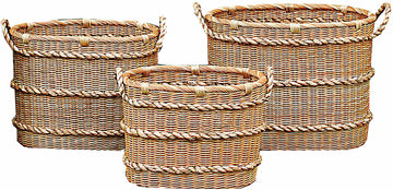CREATIVE CO-OP Wicker Basket