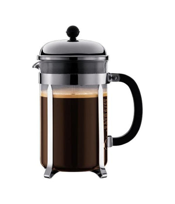 BODUM Chambord 12-Cup Stainless Steel French Press