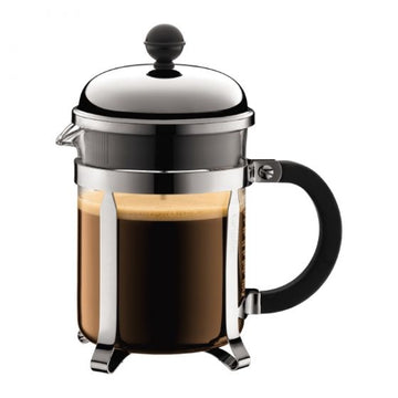 BODUM Chambord 4-Cup Stainless Steel French Press