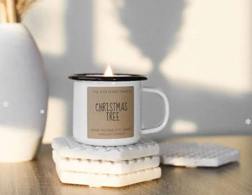 THE 6TH SCENT CANDLE Christmas Tree Soy Candles