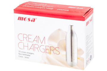 MOSA, Cream Chargers, Box of 10