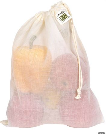 ECOBAGS Produce Bags, Cotton