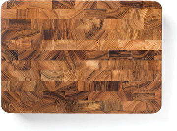 IRONWOOD End Grain Acacia Cutting Board, 15.75