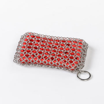 LODGE Chainmail Scrubber for Cast Iron and Stainless