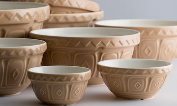MASON CASH Mixing Bowls, Tribal