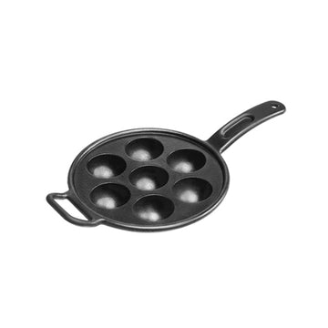 LODGE Cast Iron Aebleskiver Pan