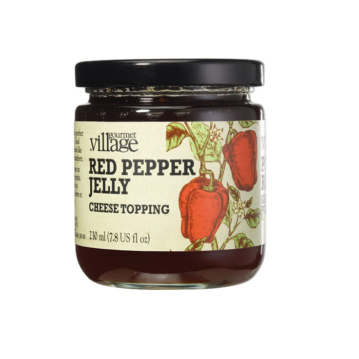 GOURMET VILLAGE Red Pepper Jelly Cheese Topping