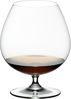 RIEDEL CRYSTAL Brandy Glasses, S/2