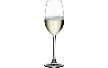 RIEDEL CRYSTAL Champagne Flutes, S/2