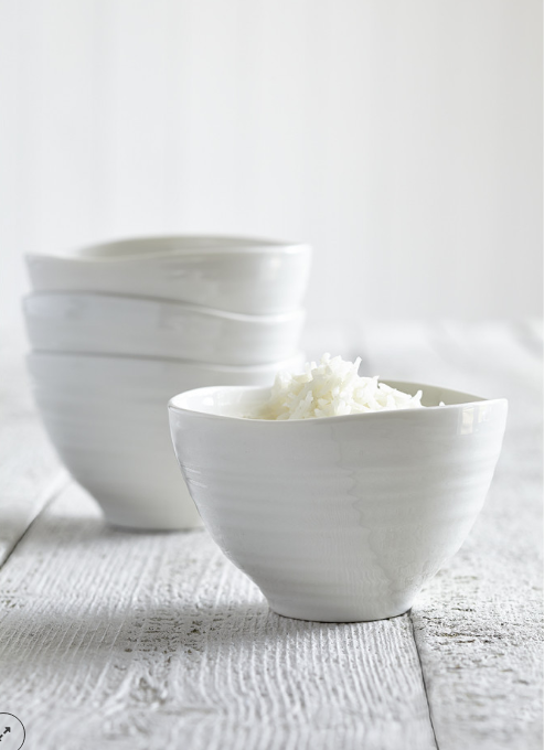 SOPHIE CONRAN Rice Bowl, White