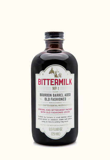 BITTERMILK Cocktail Mix, Bourbon Barrel Aged Old Fashioned