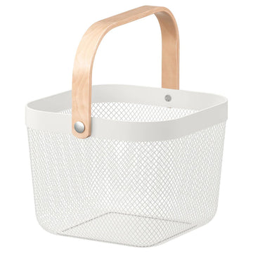 YES CHEF White Wire Baskets