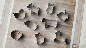 R&M Animal Cookie Cutters