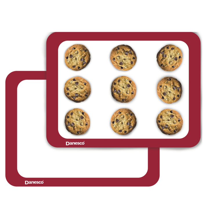 DANESCO Silicone Baking Mats, Set of two
