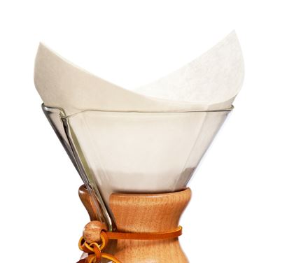 CHEMEX Coffee Filters, Natural or White
