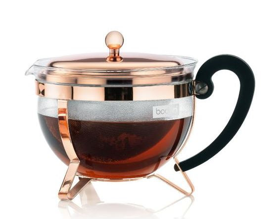 BODUM Chambord Copper Tea Pot