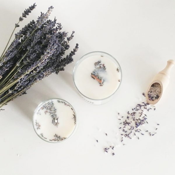THE 6TH SCENT CANDLE French Lavender Small Tin