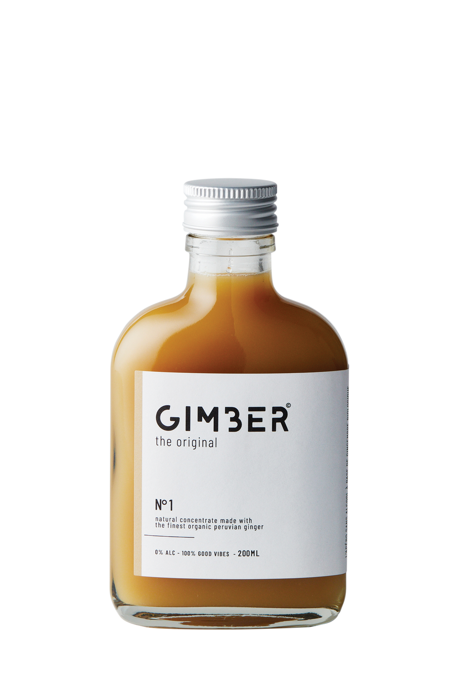 GIMBER Alcohol Free Organic Ginger Concentrate