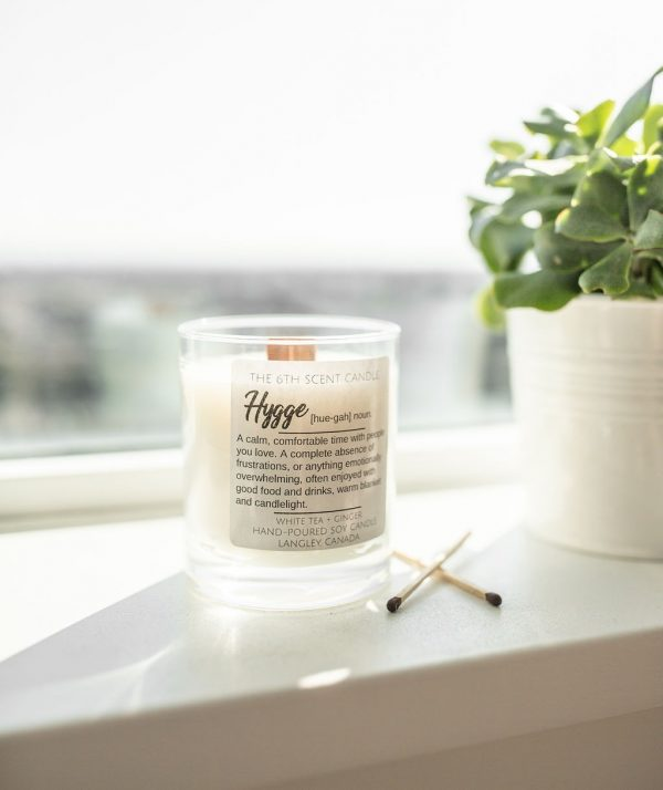 THE 6TH SCENT CANDLE Hygge White Tea & Ginger Soy Candles