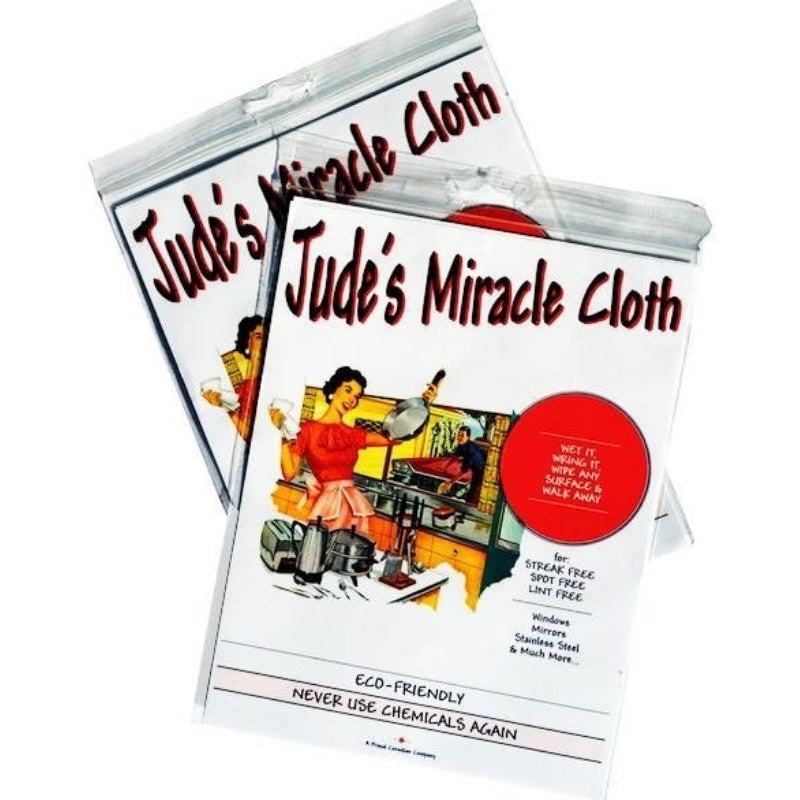 JUDE'S MIRACLE CLOTH Microfiber Cloths
