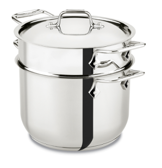 ALL CLAD, D3, Pasta Pot, 7 Qt.