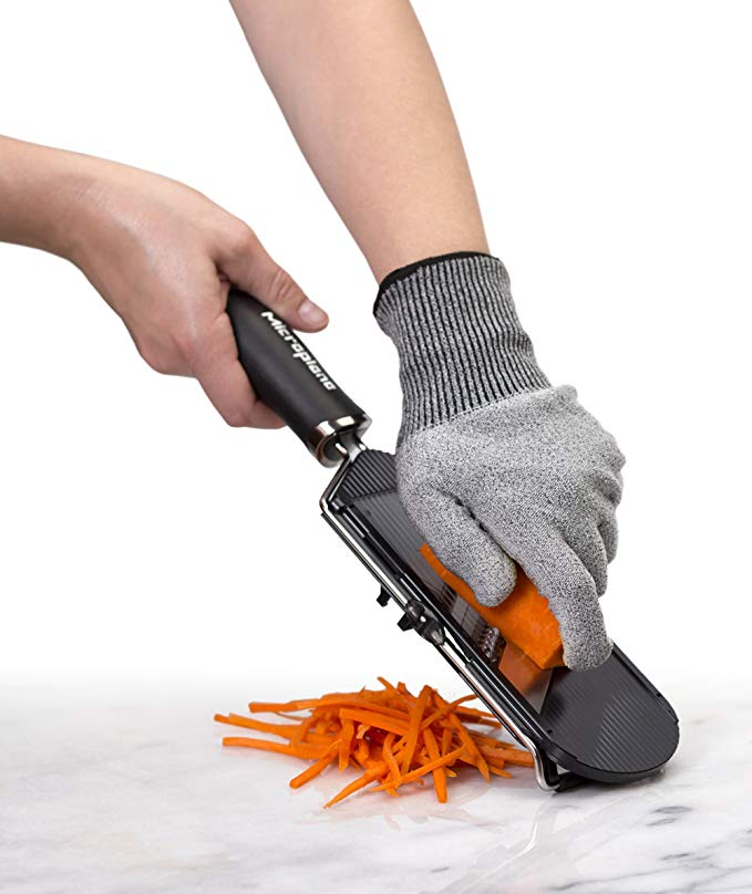 MICROPLANE Cut Resistant Gloves, Adult or Child