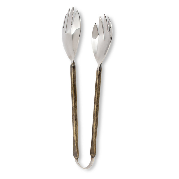 ABBOTT Serving Pieces, Antique Gold Handles
