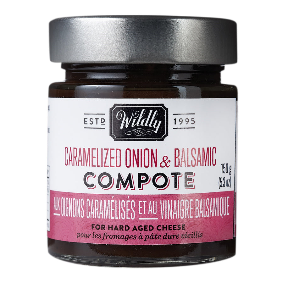 WILDLY DELICIOUS Caramelized Onion & Balsamic Compote